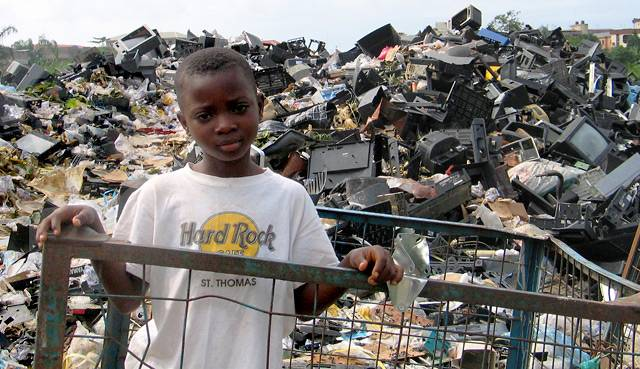 electronics waste in africa