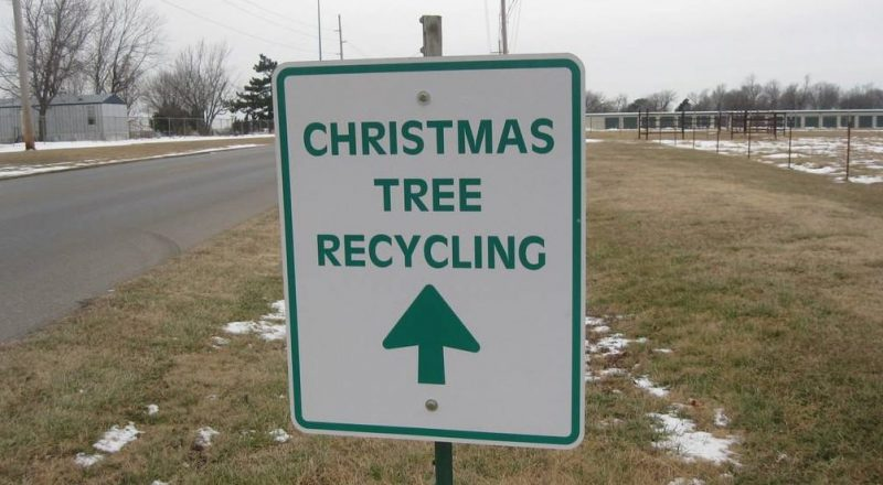 christmas tree lights recycling center