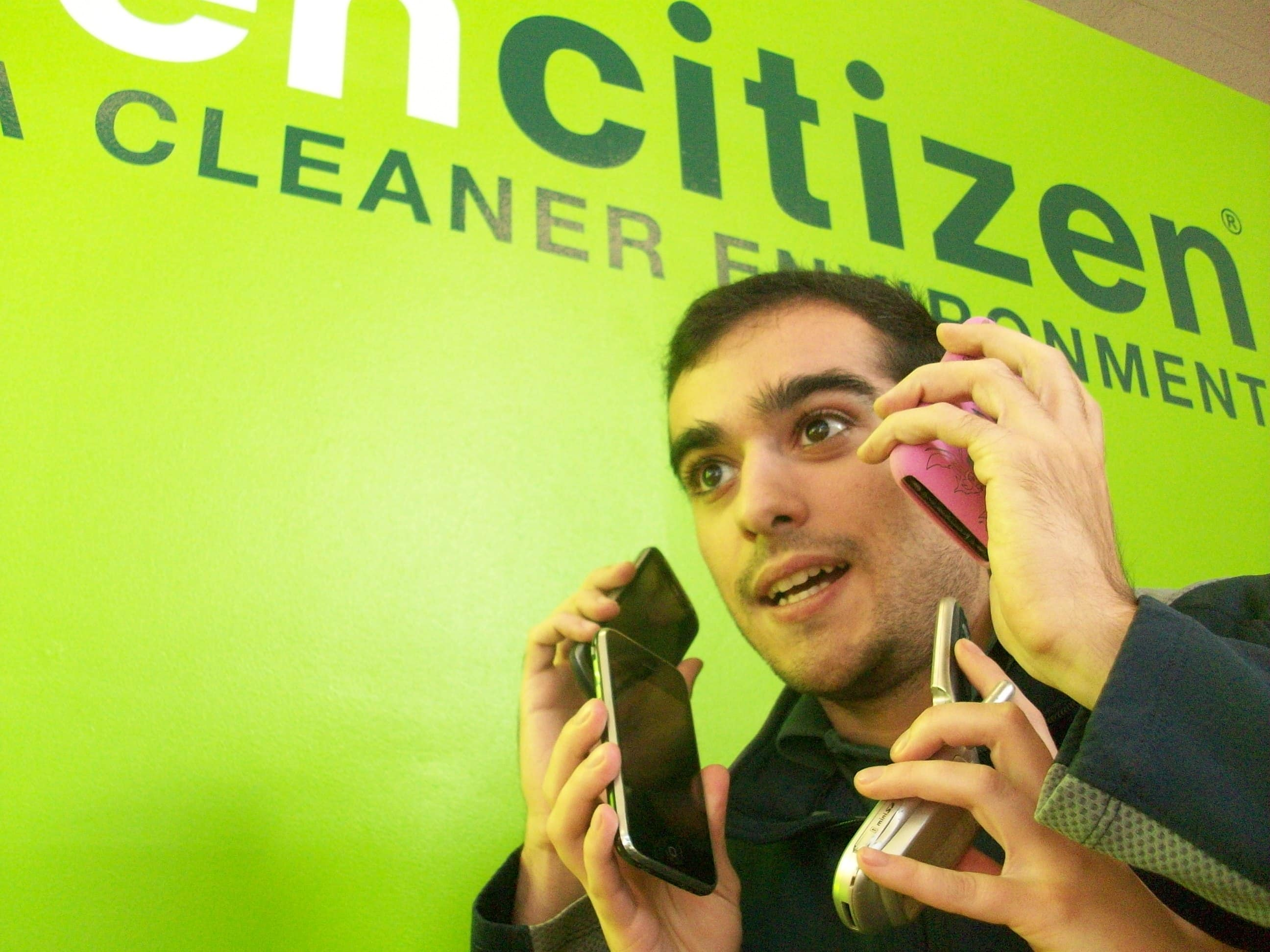 GreenCitizen Cell Phone recycling