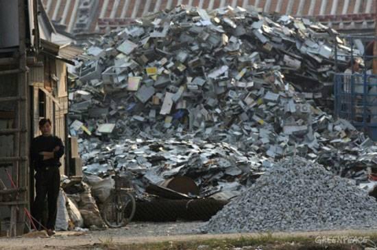 The Guiyu e-waste dump