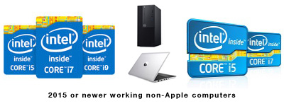 2015 or newer working non-Apple computer recycling