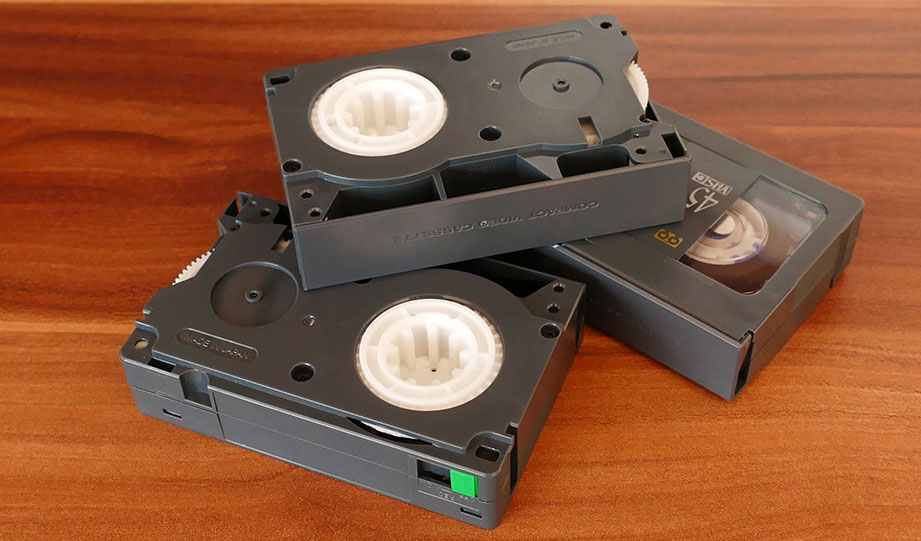Featured image for recycle vhs tapes article