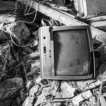 Too often televisions end up in landfills.  There they pollute the land, water and air.  This is why proper TV recycling is important.
