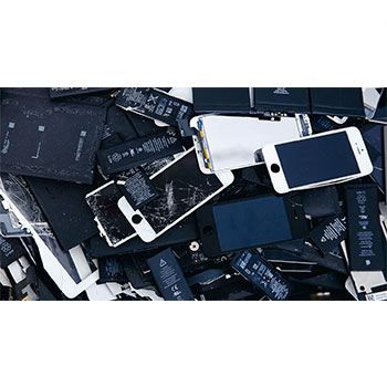 used lithium ion batteries considered as ewaste