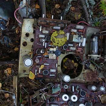 hazardous materials during tube tv disposal