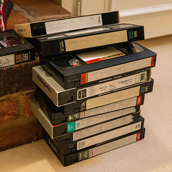 san francisco how to recycle vhs tapes