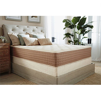 A bedroom with an Eco Terra Hybrid Latex Mattress