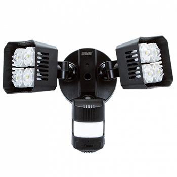 white background with a SANSI-36W-LED-Security-Light