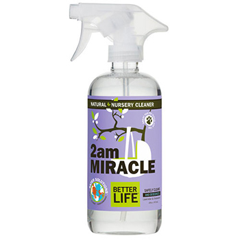 Better life natural nursery cleaner 2am miracle in a bottle