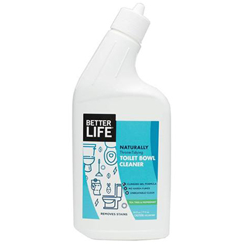 Better life natural toilet bowl cleaner in a bottle