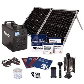 Patriot power generator free items