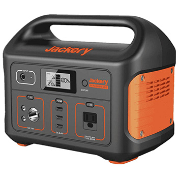 Jackery explorer 500 portable solar generator right side