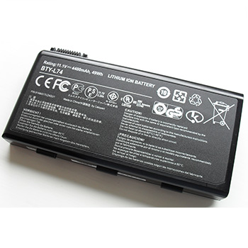 Battery for a laptop