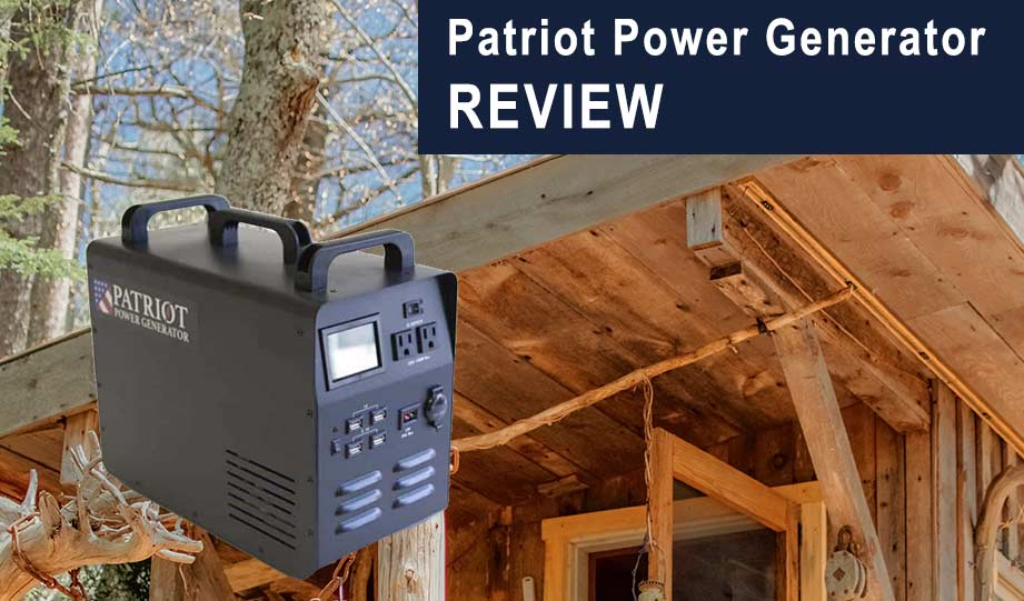 Featured image for the patriot power generator review article