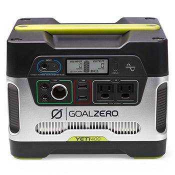 What is the goal zero yeti 400 generator