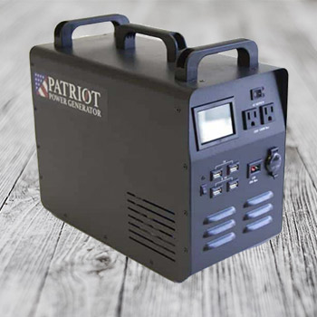 What is the patriot power generator 1800