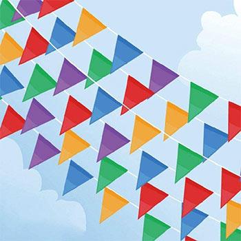 Focuses Pennant Banner Flags 300 pcs