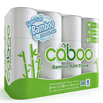 Caboo Tree Free Bamboo Toilet Paper pack