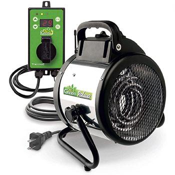 Bio Green PAL 2.0 USDT Palma Greenhouse Heater with Digital Thermostat set