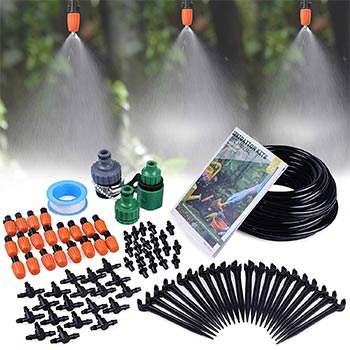 MIXC 14 inch Mist Irrigation Kits Accessories Plant Watering System set