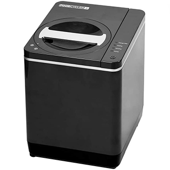 Food Cycler Platinum Indoor Food Recycler and Kitchen Compost Container black