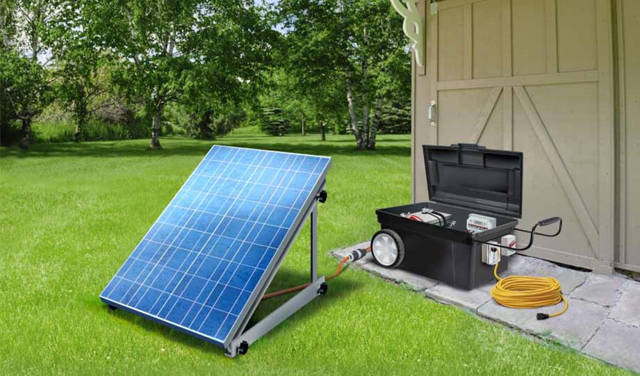 Featured image for DIY solar generator article