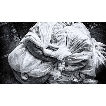Side image plastic bag recycling