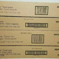 Xerox 006R01453 006R01454 006R01455 006R01456 CMYK Complete Toner Cartridge Set