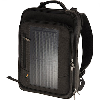 EnerPlex Packr Executive Solar Powered Backpack black