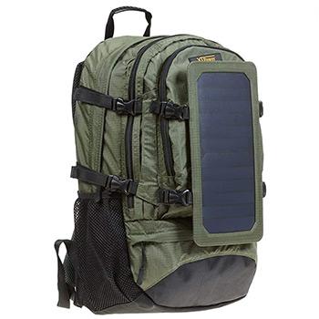 XTPower Hiking Solar Backpack green