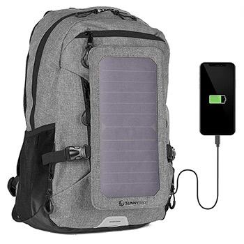 Sunnybag EXPLORER+ Solar Backpack grey
