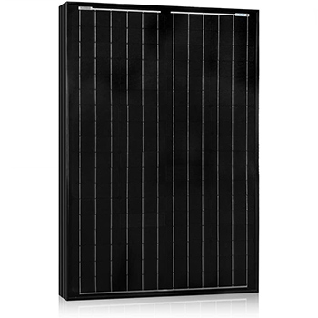 An ACOPOWER 100W Monocrystalline Solar Panel