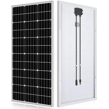 An ECO-WORTHY 100 Watt Solar Panel