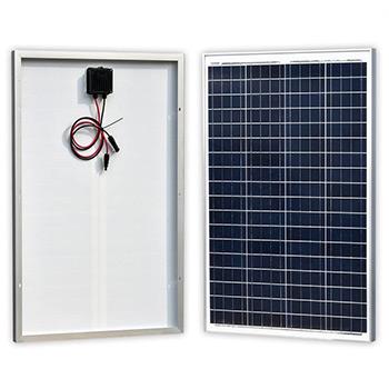 A Newpowa 100 Watts 12 Volts Polycrystalline Solar Panel