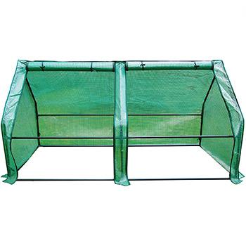A single Quictent 71 WX 36 D X 36 H Portable Cloche Mini Greenhouse