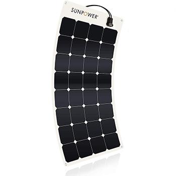 SunPower 110 Watt Flexible Solar Panel product
