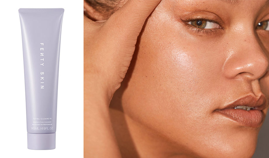 Featured image for Rihanna's New Vegan Skincare Line Aims to Reduce Waste article