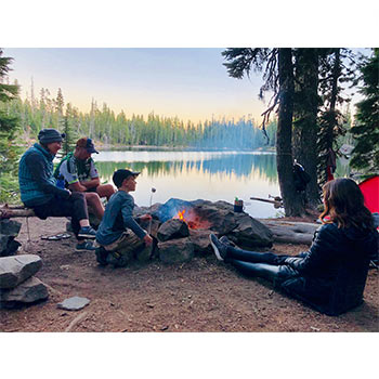 campers can benefit from a solar power bank