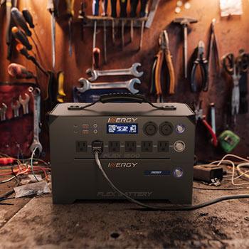 Tools surrounding a generator