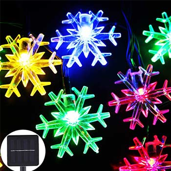 Inngree Solar Christmas String Lights one pack