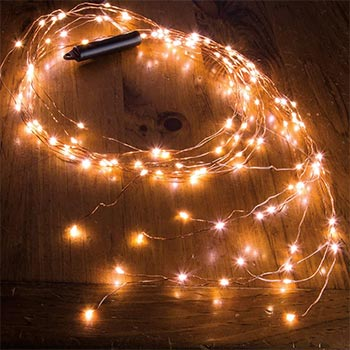 Mini solar christmas lights strands