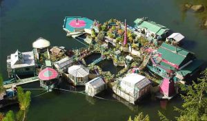 Featured image for This Canadian Homemade Island Has 4 Greenhouses And More article