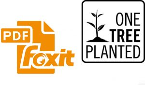 Featured image for Foxit Software And One Tree Planted Enter Into Partnership article