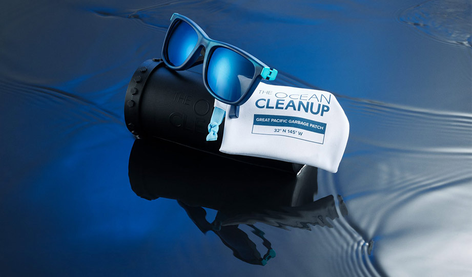 Featured image for The Ocean Cleanup Launches A Line Of Eyewear Made From Ocean Plastic article