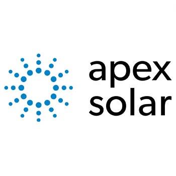 Logo of apex solar
