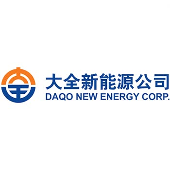 Logo of daqo new energy