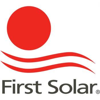 Logo of first solar