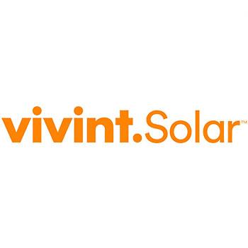Logo of vivint solar company