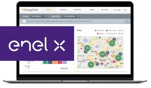 Featured image for Enel X And EnergyHub Partner Up On Smart EV Charging article