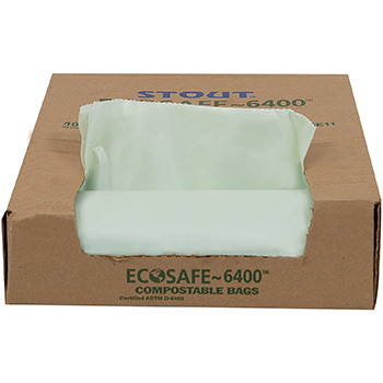 STOUT by Envision EcoSafe-6400 Compostable Bag box